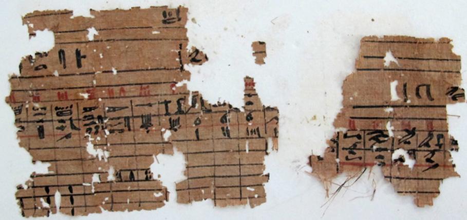 Papirusz Hufu kikötőjéből, az Óbirodalom korából