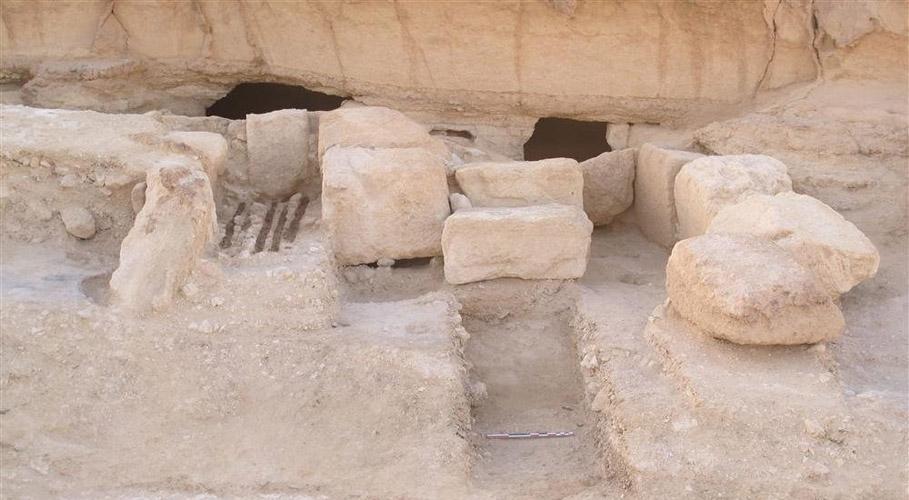 Raktárak Wadi el-Jarf óbirodalmi kikötőjében