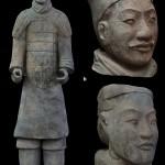 A terrakotta hadsereg katonái saját arcvonásokkal