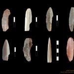 Mamut mega-lelőhelyek: Krakkó-Spadzista B - kőeszközök