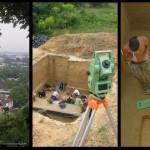 Mamut mega-lelőhelyek: Krakkó-Spadzista E - ásatási felvételek