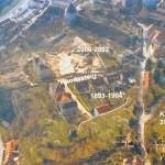 Mamut mega-lelőhelyek: Krems - a lelőhelyek fekvése