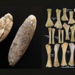 Mamut mega-lelőhelyek: Langmannersdorf - csonttárgyak és újszülött mamut csontjai