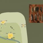 Mamut mega-lelőhelyek: Milovice - a lelőhely fekvése és eszközök